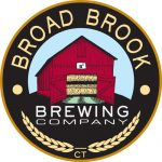 logo for broad brook brewing co includes a bar surrounded by text