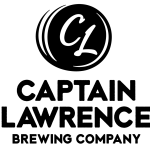 logo for captain lawrence brewing company