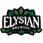 logo for elysian brewing co