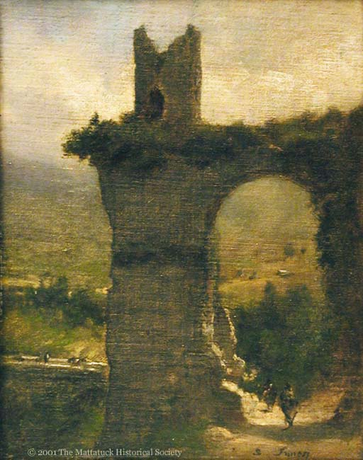 <em>Travels on a Grand Tour frequently included stops in Rome (pictured) and Paris. [George Inness painting of Rome, The Appian Way]</em>